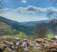 Into The Valley by Paul Thompson Photography