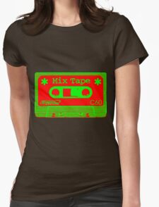 Psychedelic Mix Tape - Red and Green T-Shirt