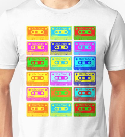 Psychedelic Mix Tapes Unisex T-Shirt