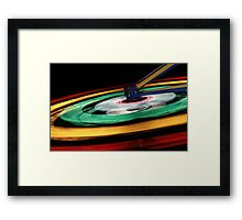Circles of Light Framed Print