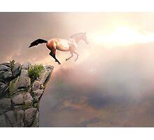 The Leap of Faith Photographic Print