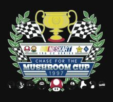 Chase for the Mushroom Cup Kids Tee