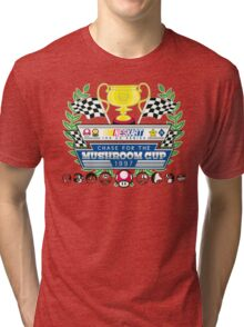 Chase for the Mushroom Cup Tri-blend T-Shirt