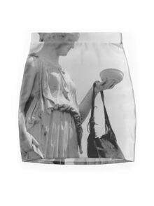 A Hippy Hebe Mini Skirt