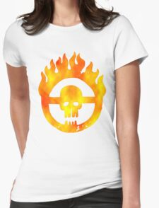 Road of Fury Womens Fitted T-Shirt