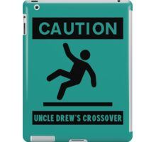 Uncle Drew crossover! iPad Case/Skin