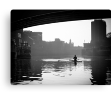 Of commerce, transportation and pleasure Canvas Print