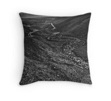 moorland arkengarthdale Throw Pillow
