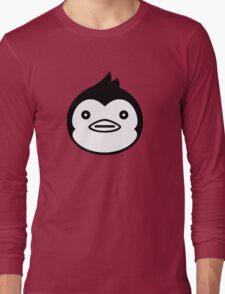 Mawaru Penguindrum - B/W Penguin Long Sleeve T-Shirt