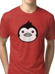 Mawaru Penguindrum - B/W Penguin Tri-blend T-Shirt