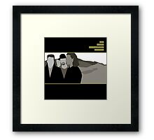 Scream without raising your voice Framed Print