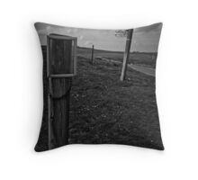 signs arkengarthdale Throw Pillow
