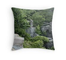 Coopers Rocks Throw Pillow