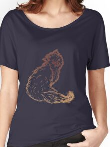 Persian Cat Sketch 2 Women's Relaxed Fit T-Shirt