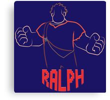 Ralph - Wreck It Ralph Canvas Print