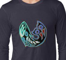 Whale Symbol Long Sleeve T-Shirt