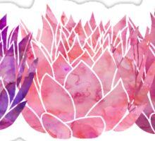 Triple Lotus Sticker