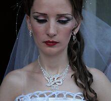 Albanian Bride in Kosovo 2 by Christopher Bobyn