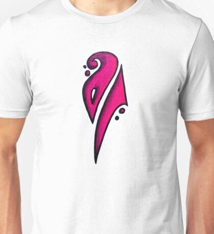 Strong / قوي (pink) Unisex T-Shirt
