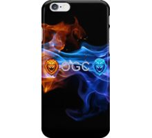 OGC FLAMING LION MERCHANDISE iPhone Case/Skin