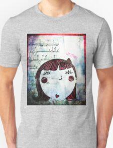 Les lèvres rouges Unisex T-Shirt