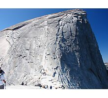 Half Dome Ascent Photographic Print