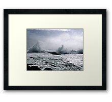 Atlantic Fury Framed Print