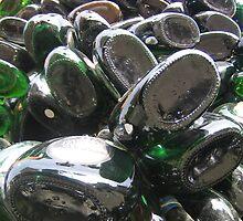Bottles Outside Bar, Nuremberg, Germany by Christopher Bobyn