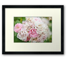 Natures Wedding Bouquet Framed Print