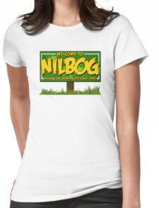 Nilbog! Womens Fitted T-Shirt