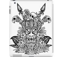 Tropical Horror Print 2 iPad Case/Skin