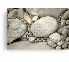 Stone Bed Canvas Print