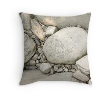 Stone Bed Throw Pillow