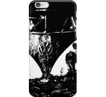 VW on moon iPhone Case/Skin