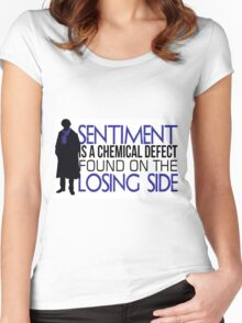 Sentiment Women's Fitted Scoop T-Shirt