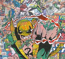 Vintage Comic Iron Fist by Daveseedhouse
