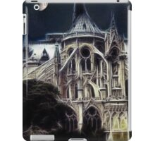 Notre Dame Cathedral back iPad Case/Skin