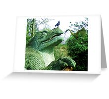 kissing cousins? Greeting Card