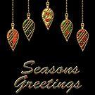 Merry Christmas Seasons Greetings  by David Dehner