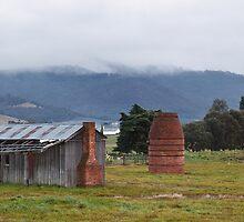 Grove Huts by Chris Cobern