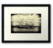 Nostalgic River Framed Print