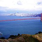 Golden Gate Bridge San Francisco California by Jeff Hathaway