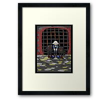 jak crow: captured... Framed Print