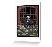 jak crow: captured... Greeting Card