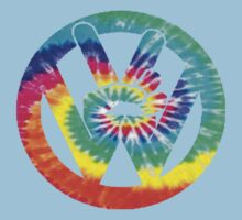 VW Tie Dye III Kids Clothes