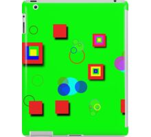 Colorful Box and Circle Art iPad Case/Skin