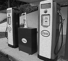 Morgantown WV USA Esso by Sherry Graddy