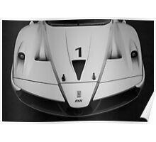 Ferrari Enzo FXX Poster