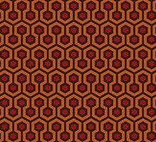 Overlook Hotel Carpet by drtees