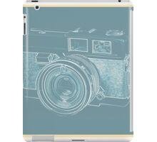 Vintage 35mm Film Camera Blue Pop Art iPad Case/Skin